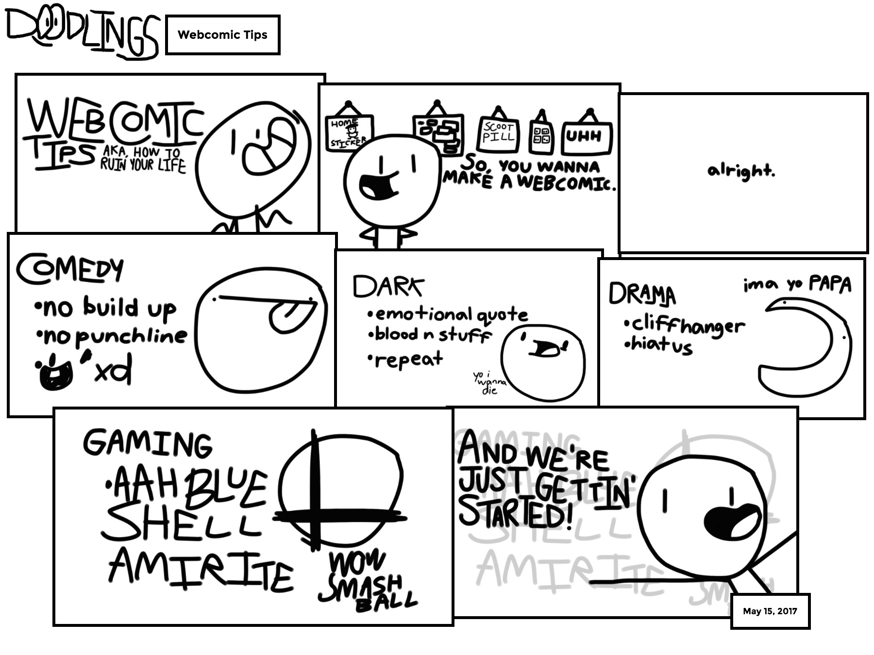 Webcomic Tips